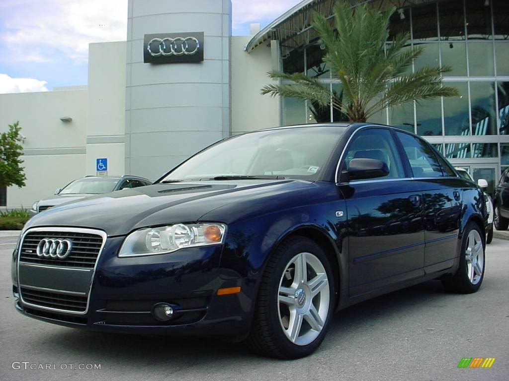 2005 moro blue pearl effect audi a4 3 2 quattro sedan. Black Bedroom Furniture Sets. Home Design Ideas