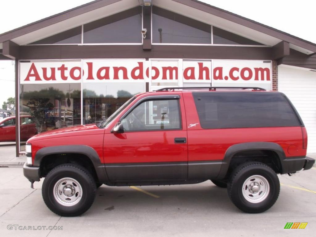 Chevy Dealer Norwood Ma Used Victory Red Chevy Tahoe   Autos Weblog