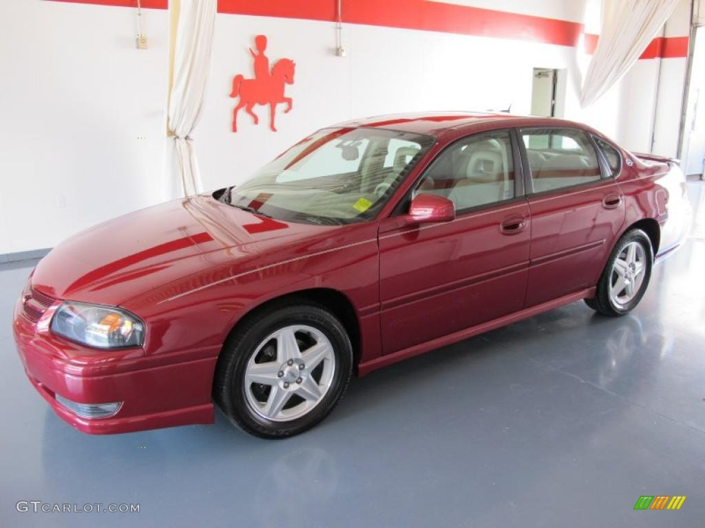 2005 Sport Red Metallic Chevrolet Impala Ss Supercharged