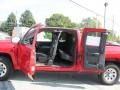 2009 Victory Red Chevrolet Silverado 1500 LT Extended Cab 4x4  photo #8