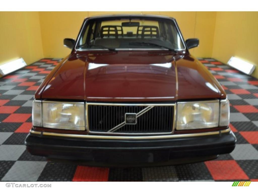 1989 wine red volvo 240 dl sedan 36963506 photo 2 car color galleries. Black Bedroom Furniture Sets. Home Design Ideas