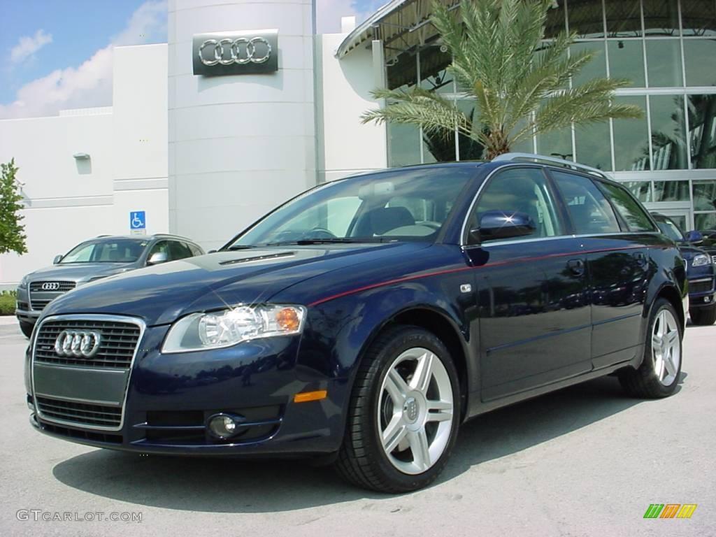2006 Moro Blue Pearl Effect Audi A4 2.0T quattro Avant #353941 ...