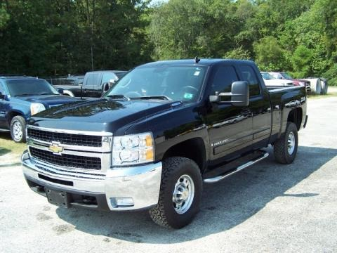 2007 chevrolet silverado 2500hd ltz extended cab 4x4 data. Black Bedroom Furniture Sets. Home Design Ideas