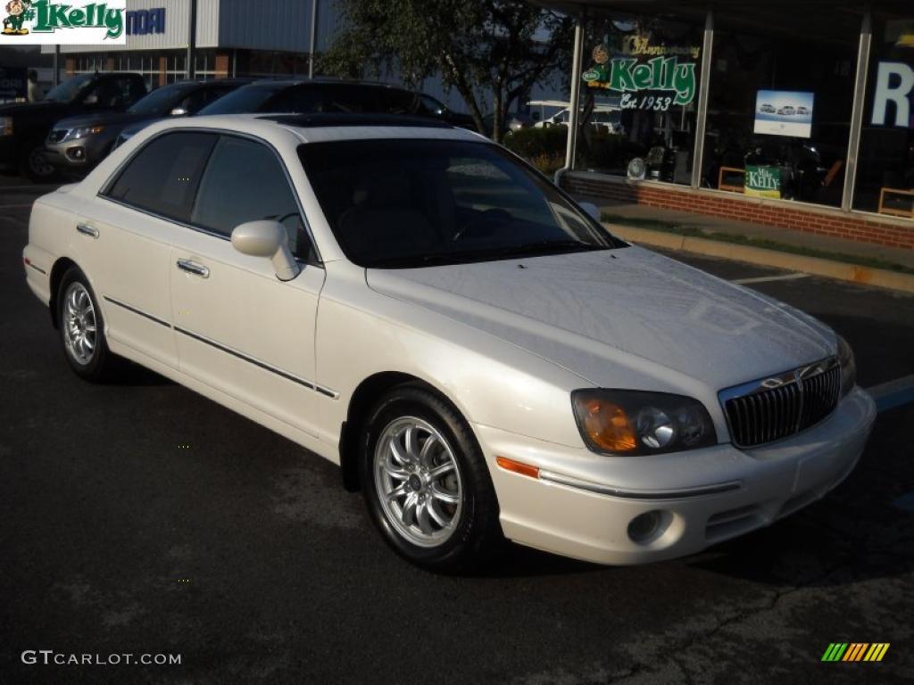 2002 ivory white pearl hyundai xg350 l sedan 36963275 gtcarlot com car color galleries gtcarlot com