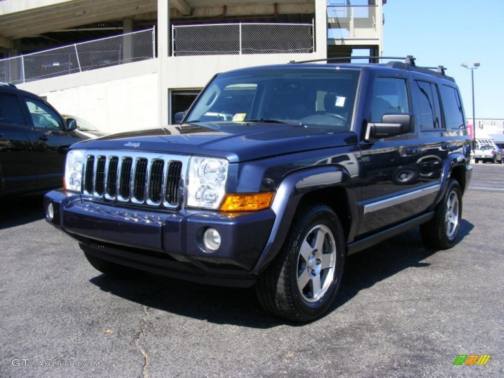 2010 Modern Blue Pearl Jeep Commander Sport 4x4 36963624 Gtcarlot Com Car Color Galleries