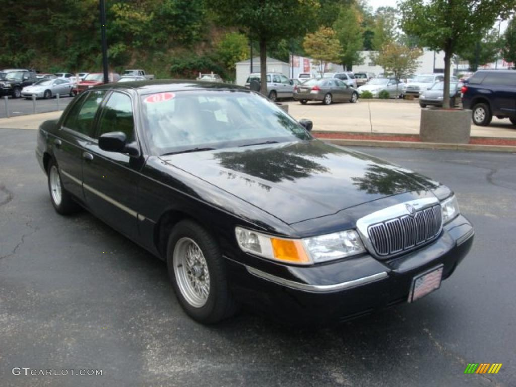 2001 black clearcoat mercury grand marquis ls 36964075 photo 6 gtcarlot com car color galleries gtcarlot com