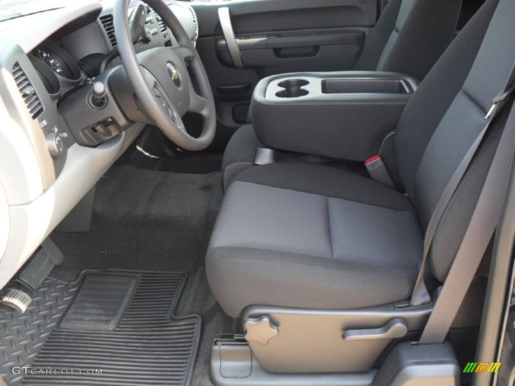 2011 Silverado 1500 LS Extended Cab - Imperial Blue Metallic / Dark Titanium photo #7