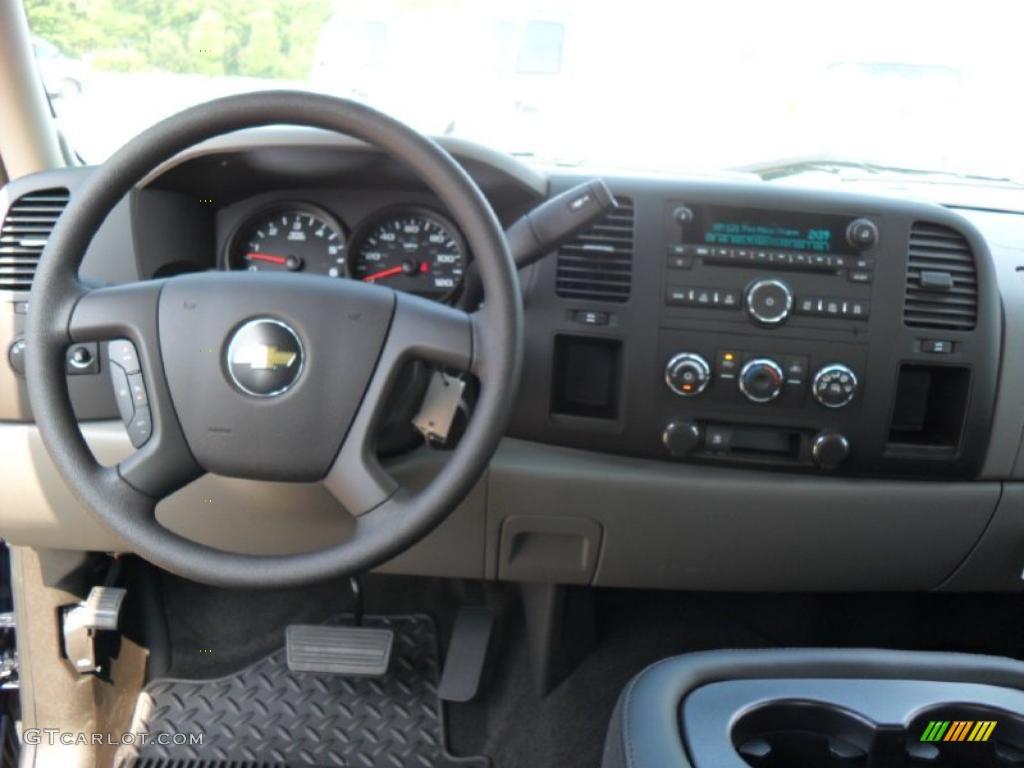 2011 Silverado 1500 LS Extended Cab - Imperial Blue Metallic / Dark Titanium photo #14