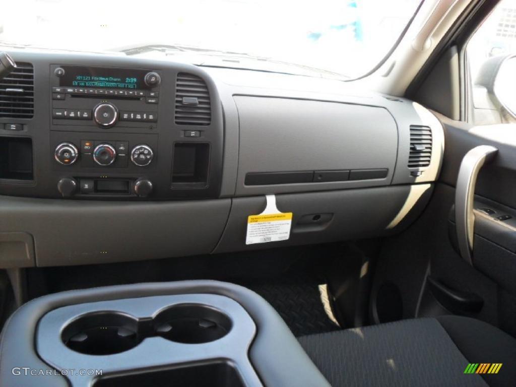 2011 Silverado 1500 LS Extended Cab - Imperial Blue Metallic / Dark Titanium photo #15