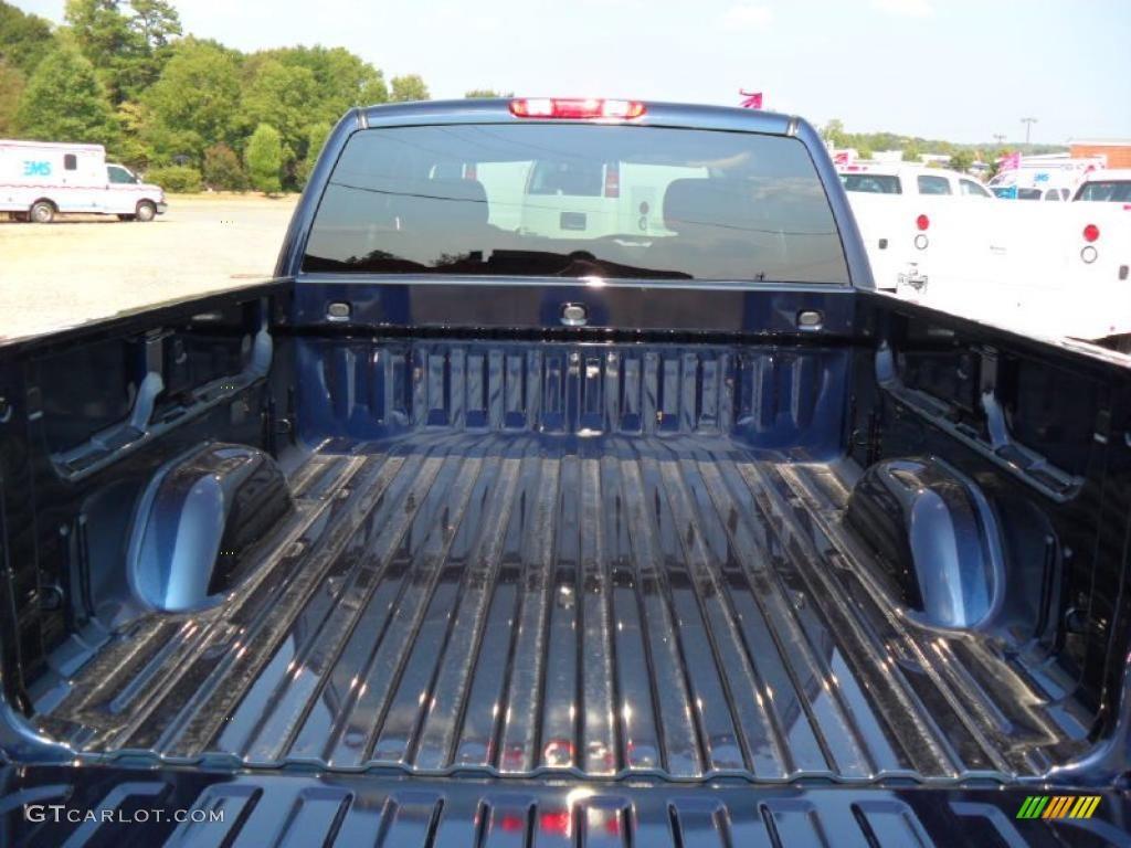 2011 Silverado 1500 LS Extended Cab - Imperial Blue Metallic / Dark Titanium photo #16