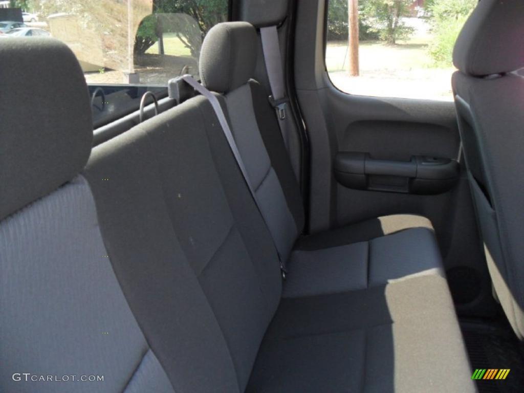 2011 Silverado 1500 LS Extended Cab - Imperial Blue Metallic / Dark Titanium photo #17