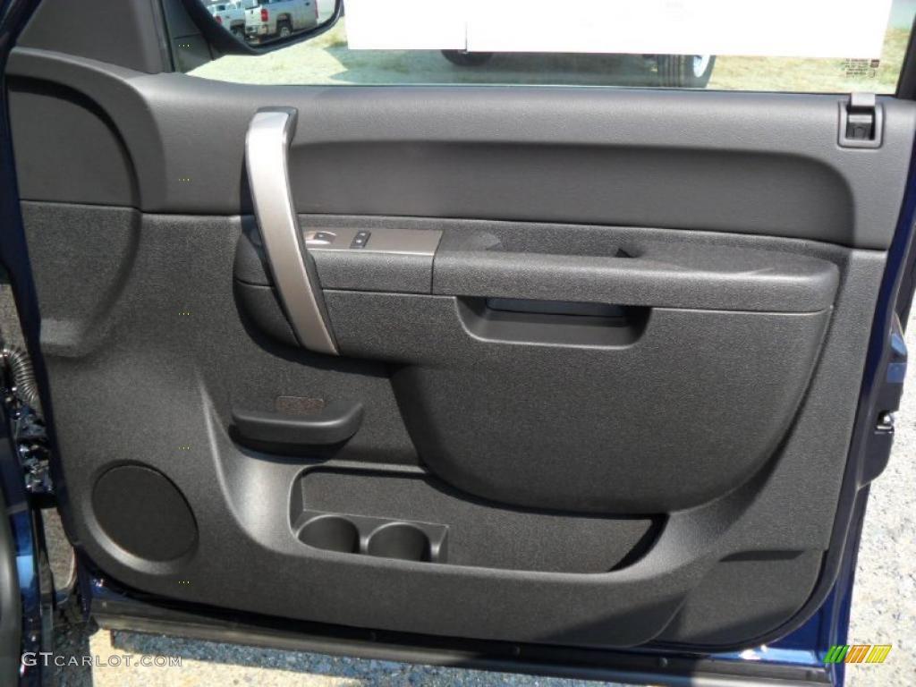 2011 Silverado 1500 LS Extended Cab - Imperial Blue Metallic / Dark Titanium photo #19