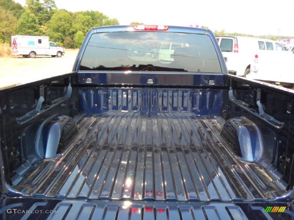 2011 Silverado 1500 LT Extended Cab 4x4 - Imperial Blue Metallic / Ebony photo #17