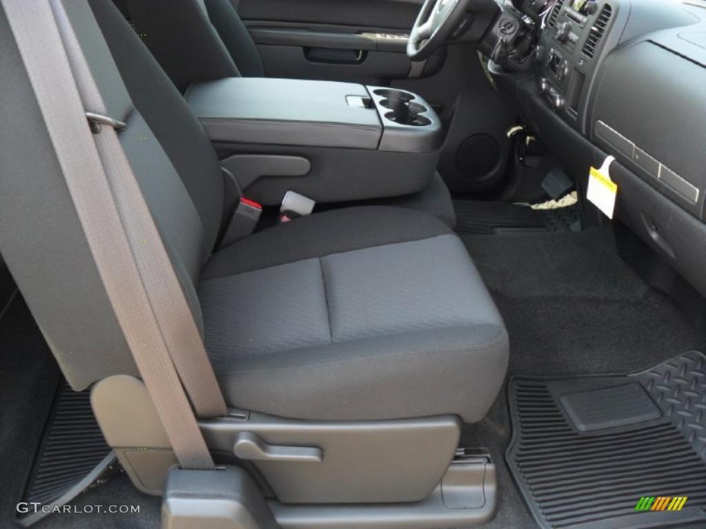 2011 Silverado 1500 LT Extended Cab 4x4 - Imperial Blue Metallic / Ebony photo #19