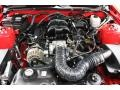 2007 Torch Red Ford Mustang V6 Deluxe Convertible  photo #26