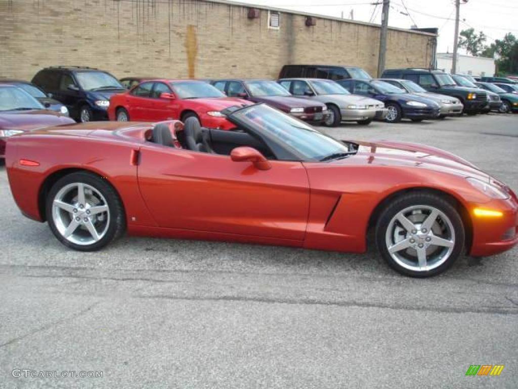 Daytona Orange Corvette Paint Autos Post