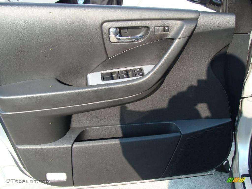 2007 Murano SL AWD - Brilliant Silver Metallic / Charcoal photo #10