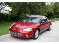 2003 Inferno Red Tinted Pearl Chrysler Sebring LXi Convertible #37033269