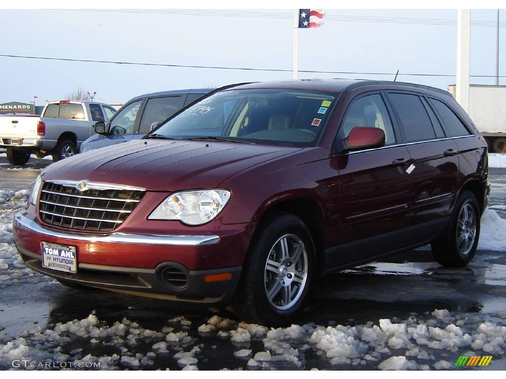 2007 cognac crystal pearl chrysler pacifica touring 3701865 car color galleries