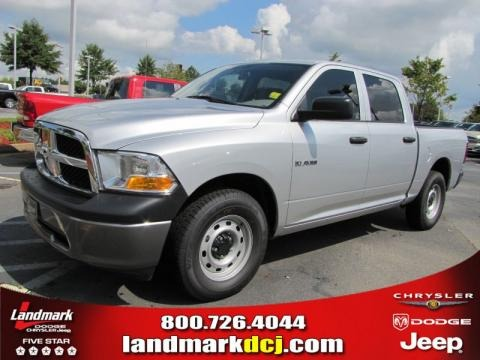 2010 dodge ram 1500 st crew cab data info and specs. Black Bedroom Furniture Sets. Home Design Ideas