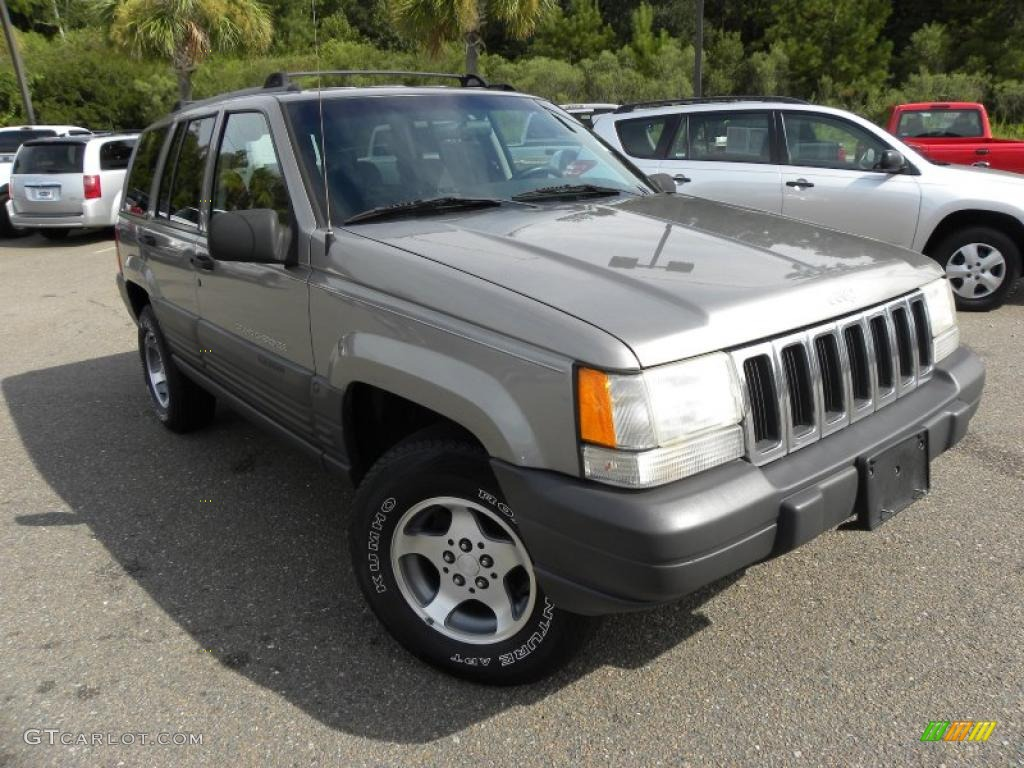 1998 jeep grand cherokee laredo 4x4 light driftwood satin glow color. Cars Review. Best American Auto & Cars Review