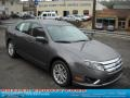 2011 Sterling Grey Metallic Ford Fusion SEL  photo #1