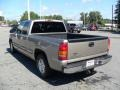 2002 Light Pewter Metallic Chevrolet Silverado 1500 LS Extended Cab  photo #2