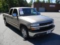 2002 Light Pewter Metallic Chevrolet Silverado 1500 LS Extended Cab  photo #5