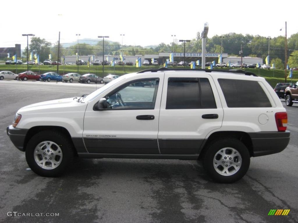 2000 Jeep Cherokee Laredo White