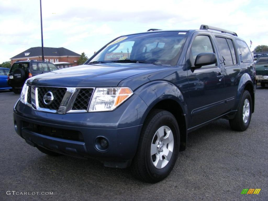 2007 silverton blue nissan pathfinder s 37282795 car color galleries. Black Bedroom Furniture Sets. Home Design Ideas