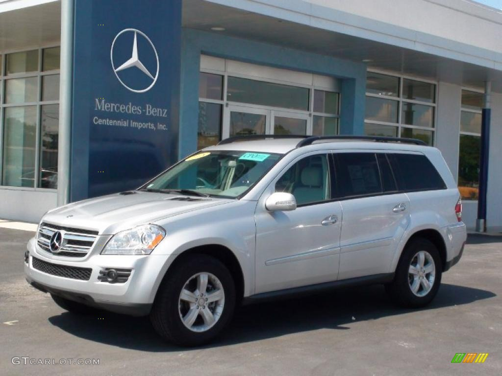 2008 iridium silver metallic mercedes benz gl 320 cdi. Black Bedroom Furniture Sets. Home Design Ideas