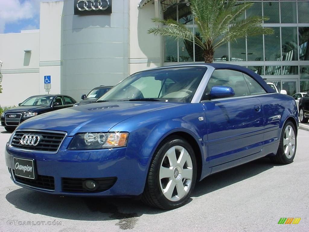 2006 caribic blue pearl effect audi a4 1 8t cabriolet 353917 car color galleries. Black Bedroom Furniture Sets. Home Design Ideas