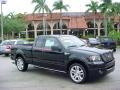 Black 2006 Ford F150 Harley-Davidson SuperCab