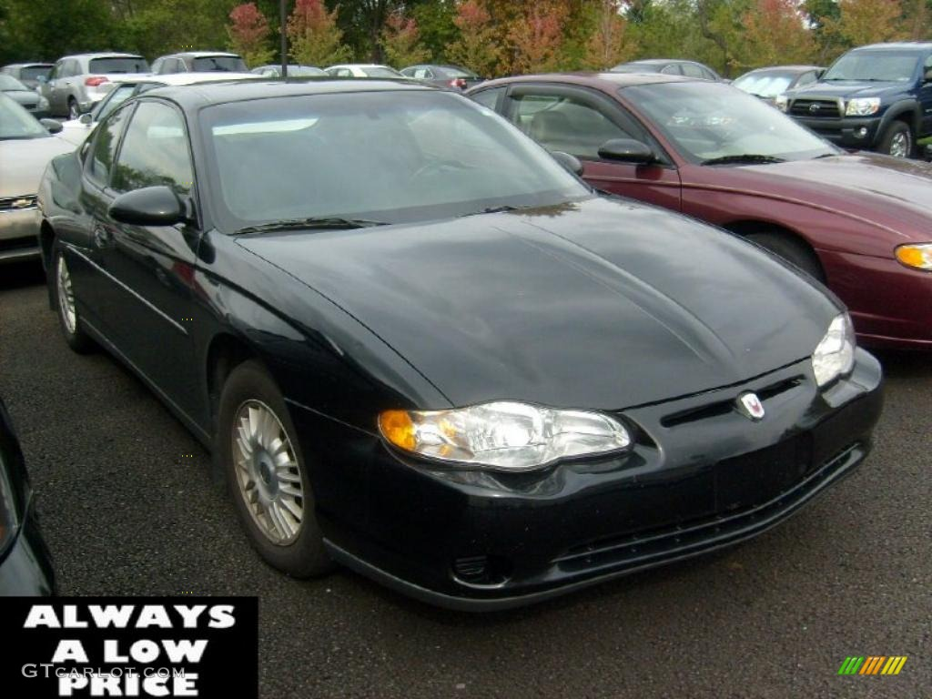2000 Monte Carlo LS - Black / Ebony photo #1