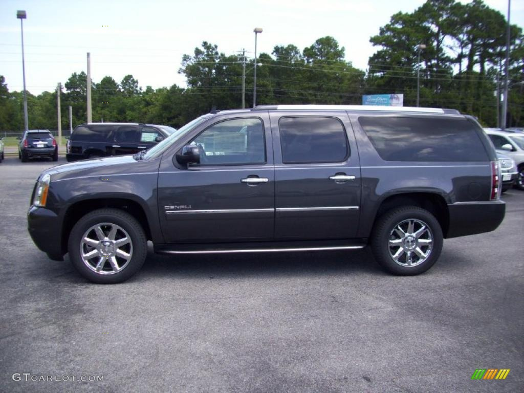 2011 storm gray metallic gmc yukon xl denali awd 37322178 car color galleries. Black Bedroom Furniture Sets. Home Design Ideas