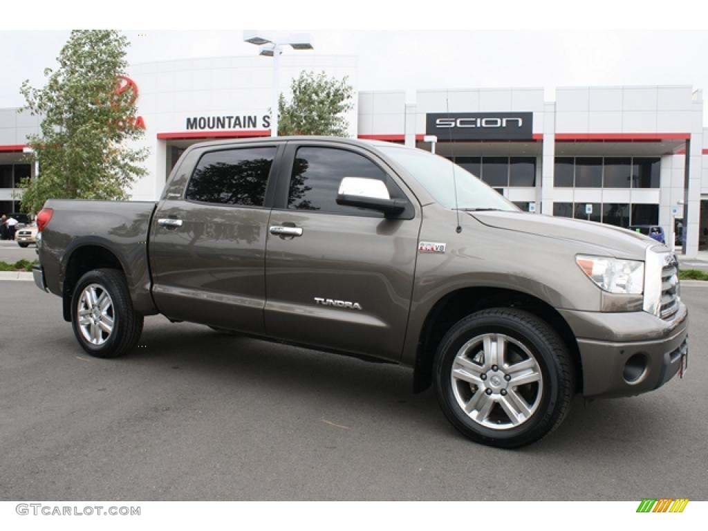 2007 pyrite mica toyota tundra limited crewmax 4x4. Black Bedroom Furniture Sets. Home Design Ideas