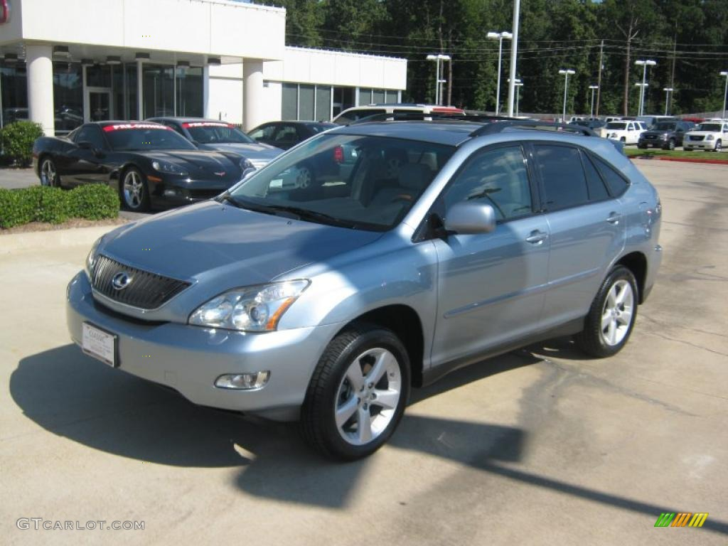2007 breakwater blue metallic lexus rx 350 37322227 car color galleries. Black Bedroom Furniture Sets. Home Design Ideas