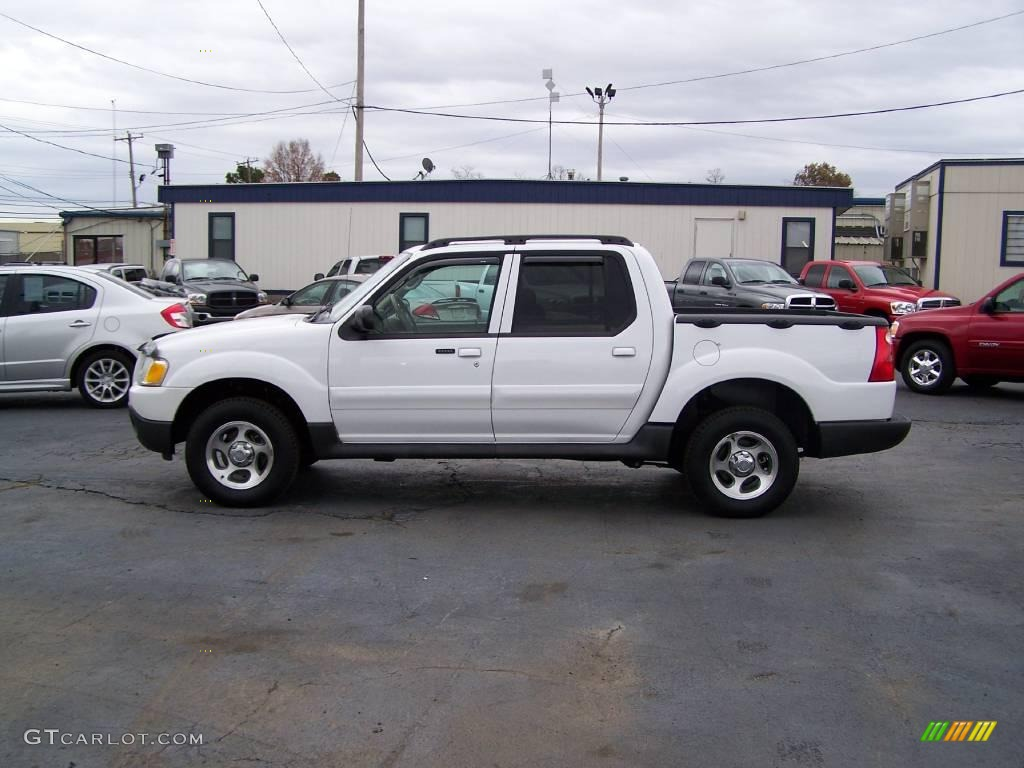 2004 Oxford White Ford Explorer Sport Trac Xlt 3734653 Car Color Galleries