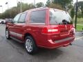 2007 Vivid Red Metallic Lincoln Navigator Ultimate 4x4  photo #2
