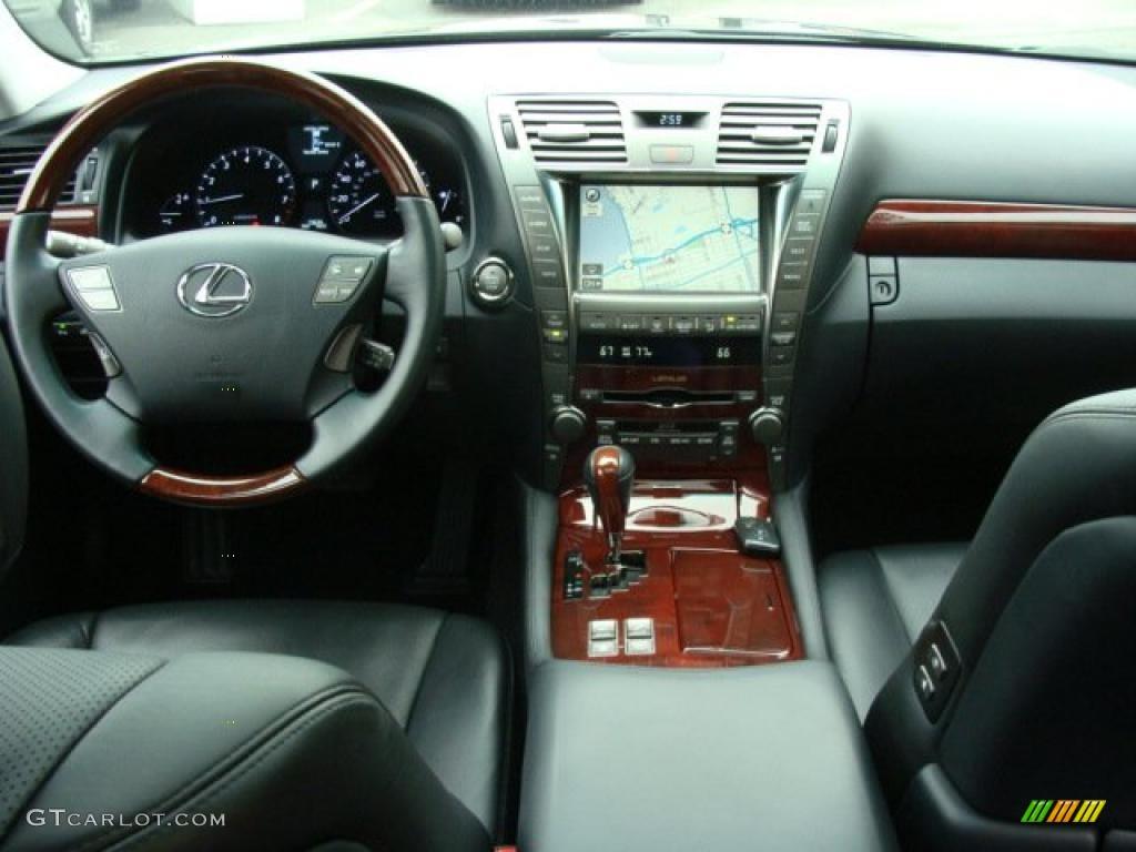 Black Interior 2009 Lexus LS 460 L Photo #37371793