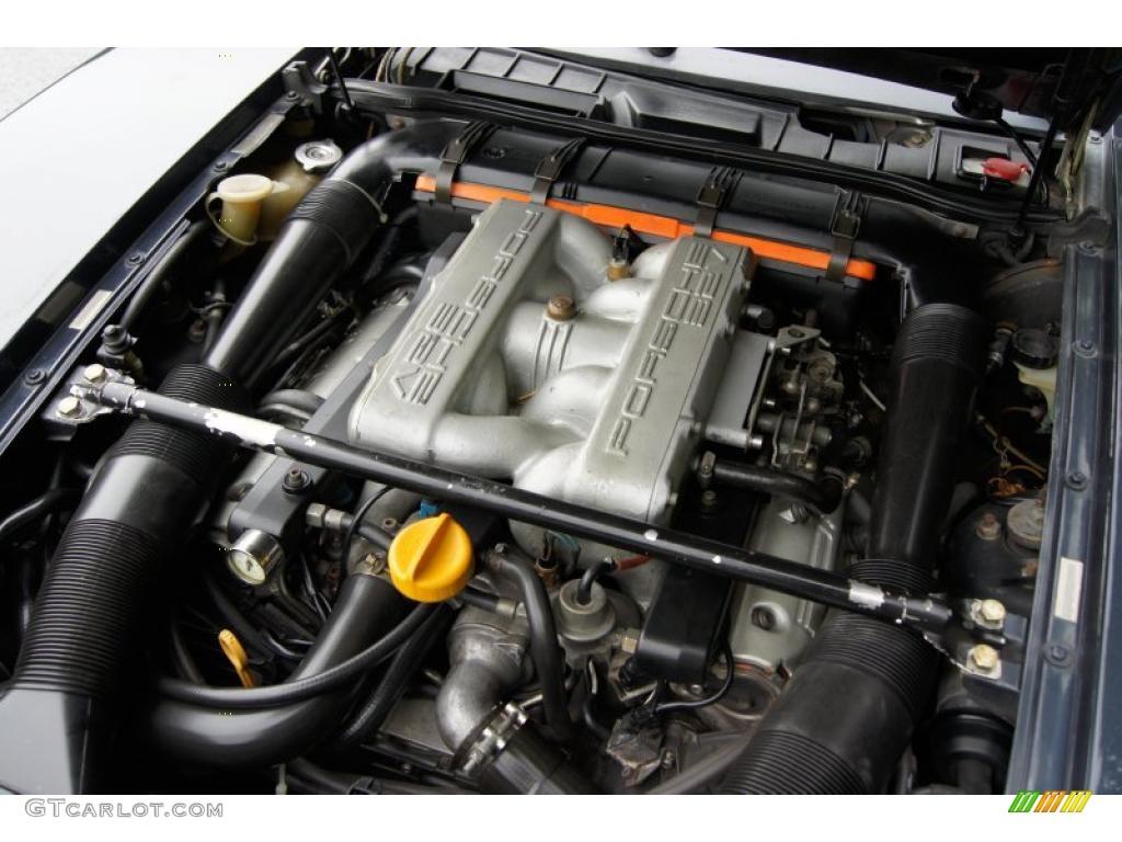 1988 Porsche 928 S4 5 0 Liter Dohc 32 Valve V8 Engine