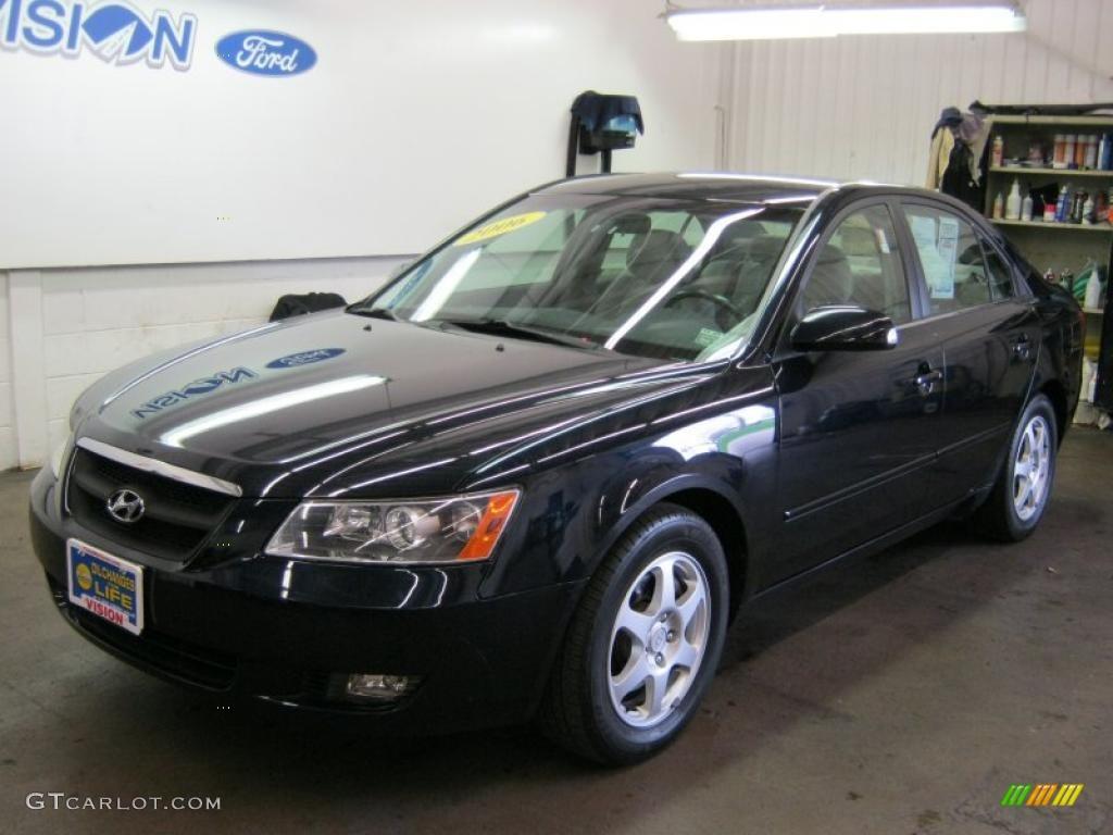 2006 Deepwater Blue Hyundai Sonata Lx V6 37322850
