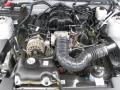 2007 Tungsten Grey Metallic Ford Mustang V6 Deluxe Convertible  photo #4