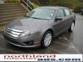 2011 Sterling Grey Metallic Ford Fusion SE  photo #2