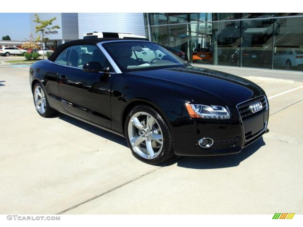 2011 Brilliant Black Audi A5 2 0t Convertible 37423875 Gtcarlot Com Car Color Galleries