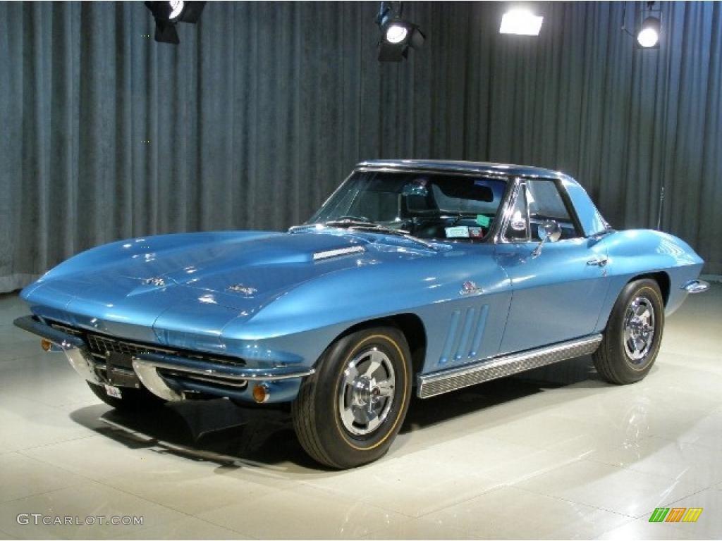 1966 nassau blue chevrolet corvette stingray 37423390