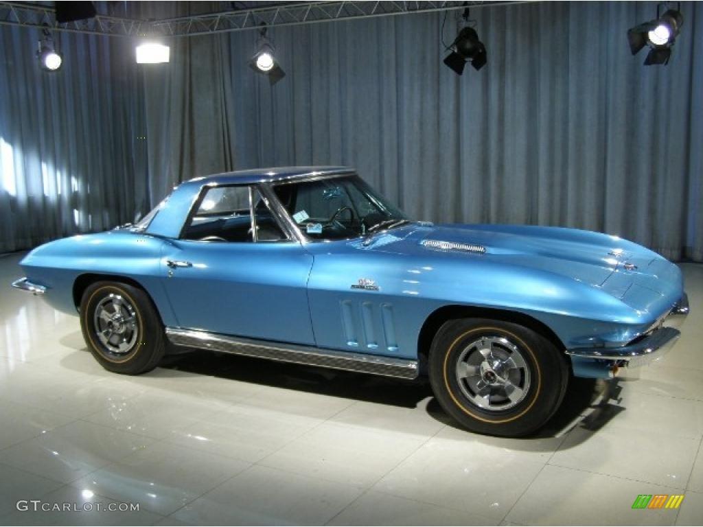 1966 Nassau Blue Chevrolet Corvette Stingray 37423390 Photo 3 Chevy Black