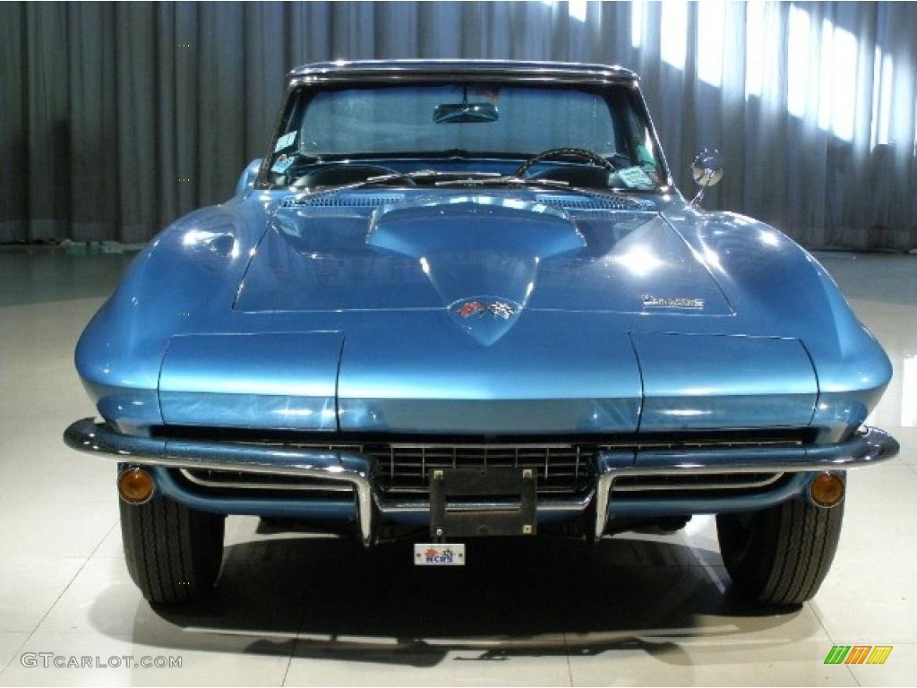 1966 Nassau Blue Chevrolet Corvette Stingray 37423390 Photo 4 Chevy Black