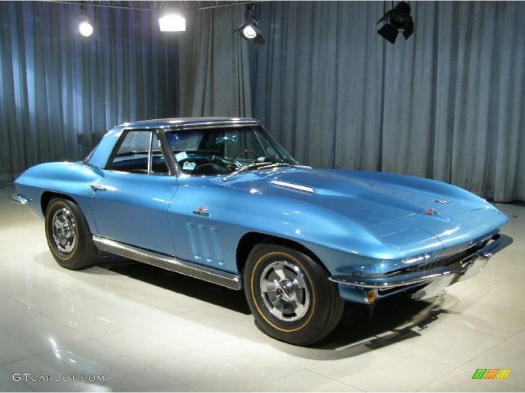 1966 Nassau Blue Chevrolet Corvette Stingray 37423390 Photo 18 Chevy Black
