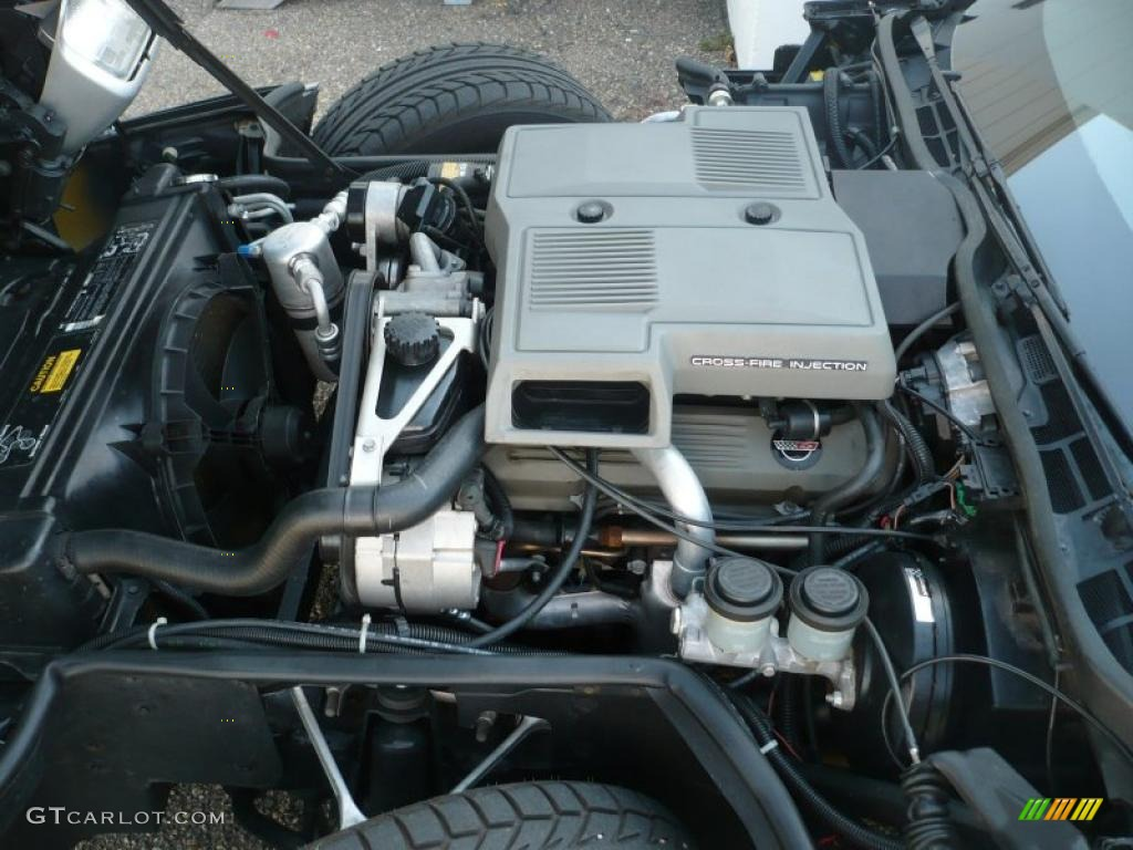 1984 Corvette L83 Crossfire Engineon 1984 Corvette Crossfire Injection Engine